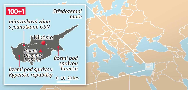 Rozdeleny Kypr Zeme Na Rozhrani Mezi Evropou A Asii 100 1