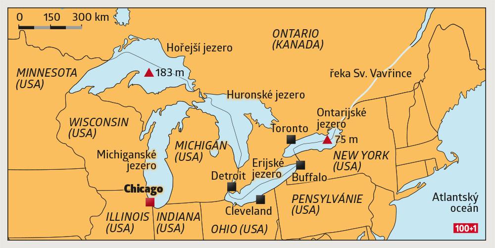 Great Lakes Pet Jezernich Obru 100 1 Zahranicni Zajimavost