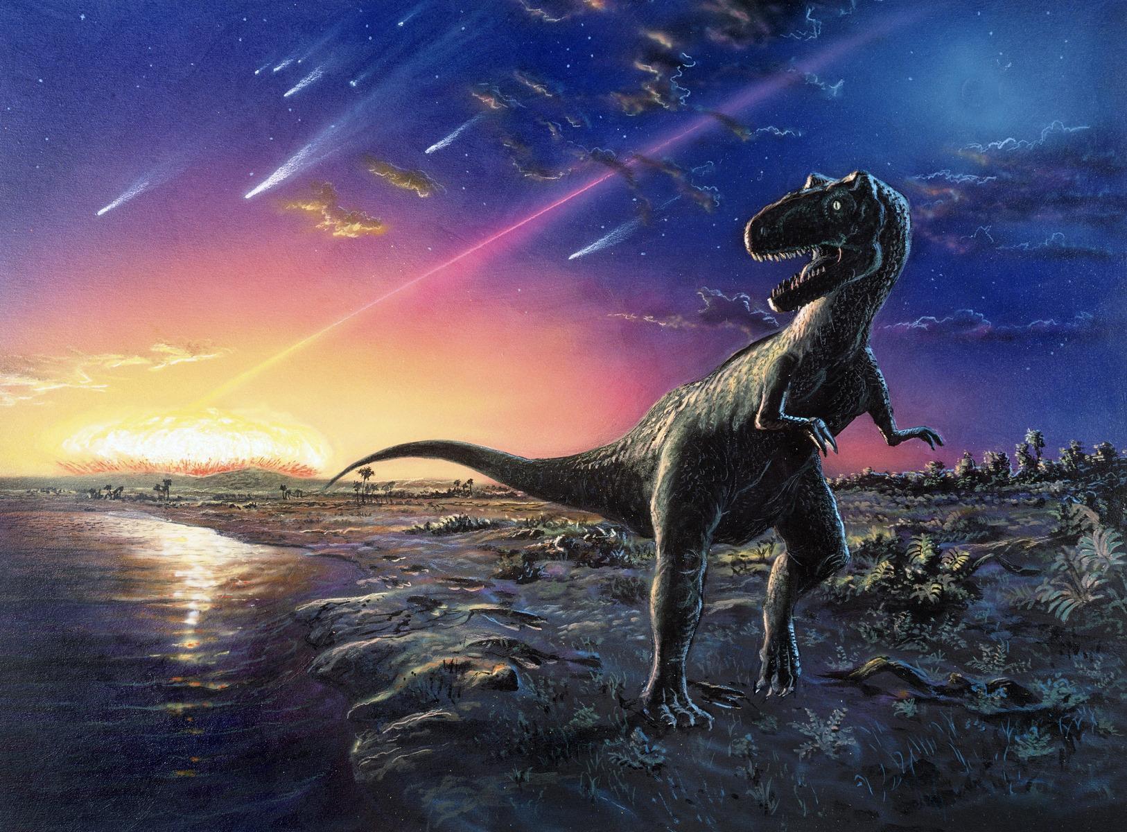 гибель динозавров в картинках с названиями оправдание она всегда