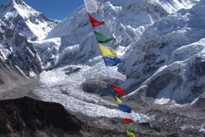 <p>Mount Everest z výšiny Kala Patthar</p>