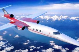 <h3>Aerion Supersonic AS2</h3><p><strong>maximální rychlost:</strong> mach 1,4&nbsp;</p><p><strong>kapacita:</strong> 12 pasažérů&nbsp;&nbsp;</p><p><strong>plánované nasazení:</strong> 2026</p>