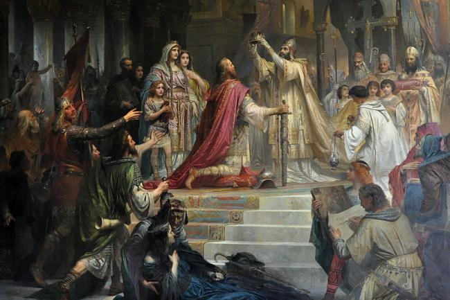 the conquest coronation and rule of charlemagne in rome Everywhere his rule was established, charlemagne instituted he was the first emperor to rule the continent since the fall of rome and was seen as a powerful.