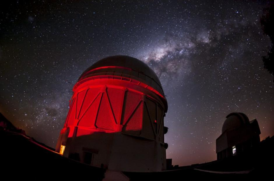 <p>Chilský Blanco Telescope, kde běžel projekt Dark Energy Survey.</p>