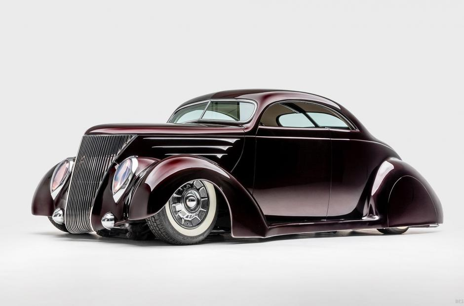 <p>Crimson Ghost (1937 <strong>Ford Coupe</strong>)</p>