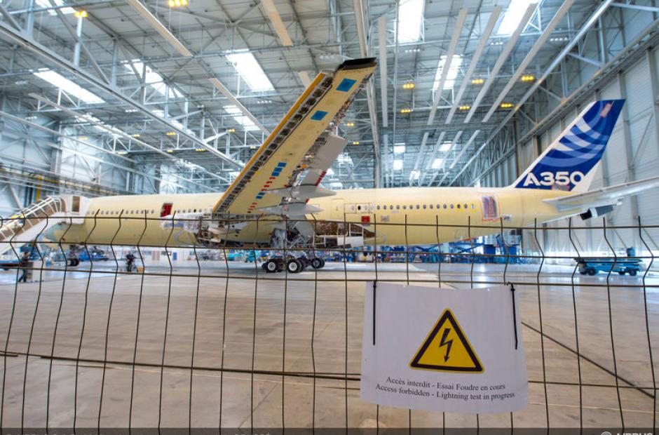 Airbus a blesky -