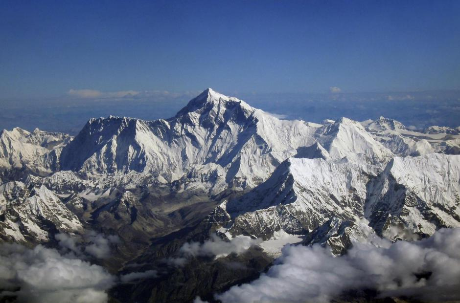 Mount Everest v pohybu -