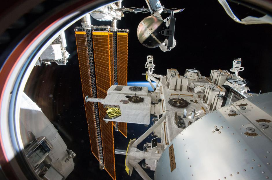 SpinSat na ISS -