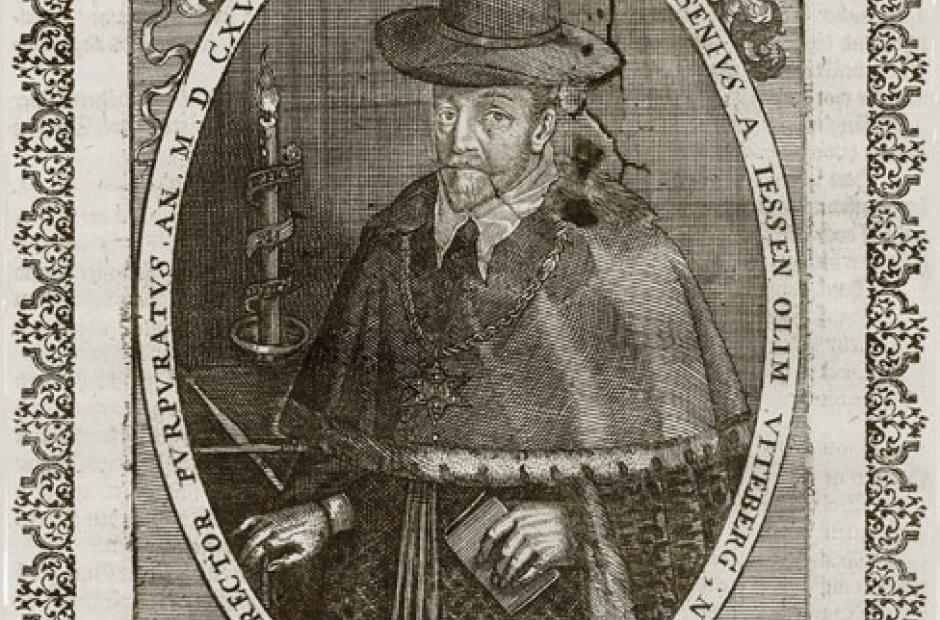 <p>Jan Jesenius (1566-1621)</p>