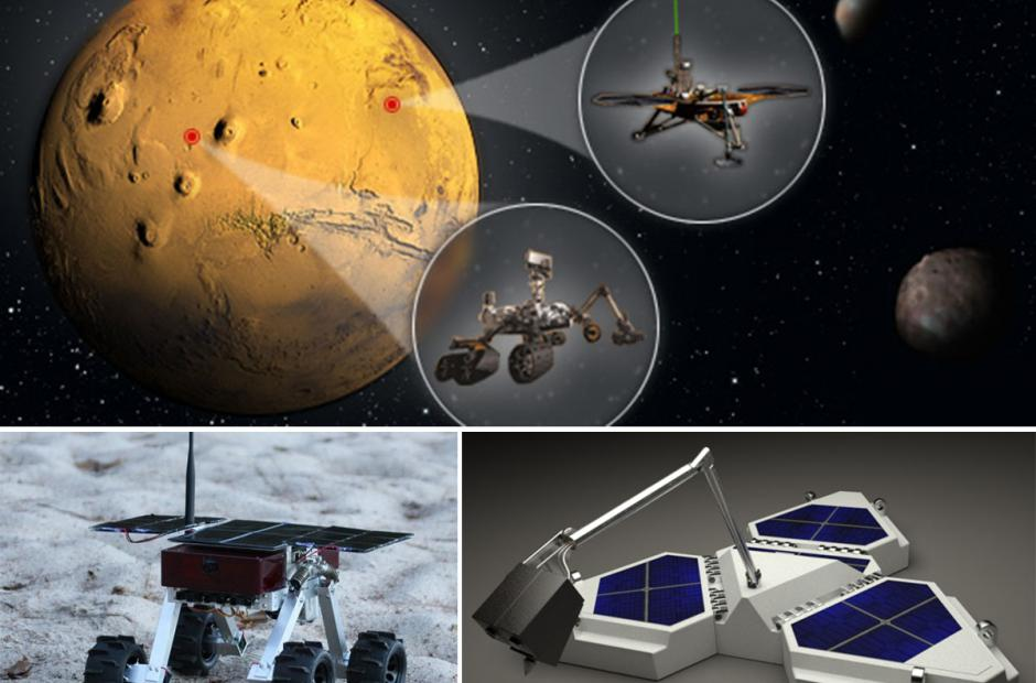 Northern Light lander a Beaver rover -