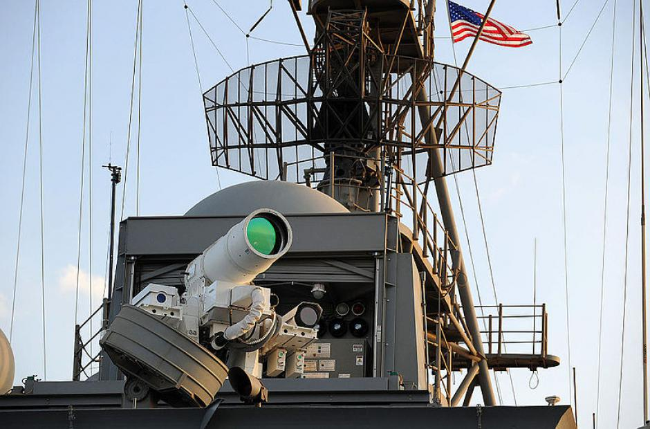 Laser Weapon System -