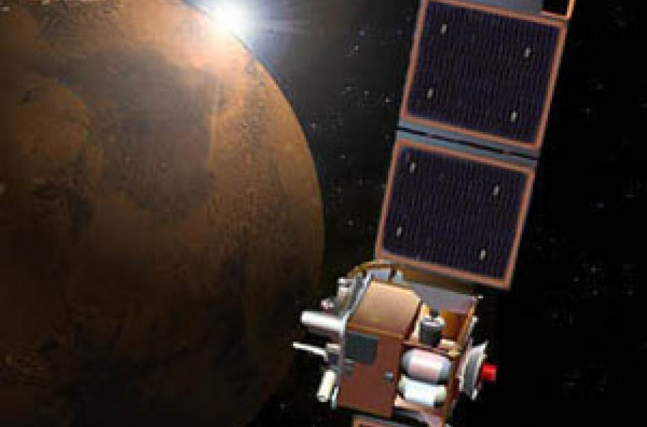 Mars Global Surveyor (MGS) -