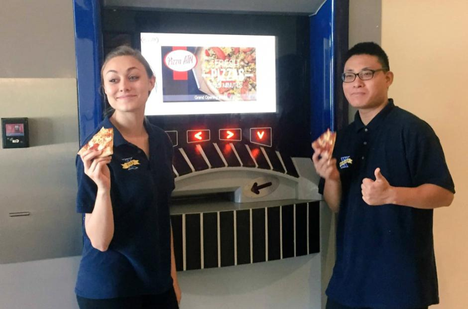 Pizza ATM -