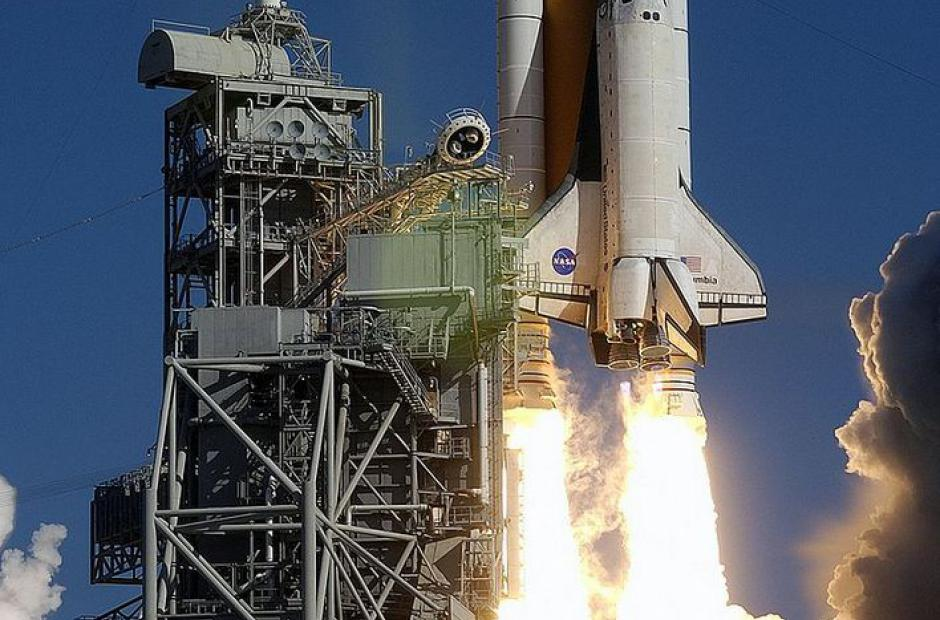 Start raketoplánu Columbia STS-107 -