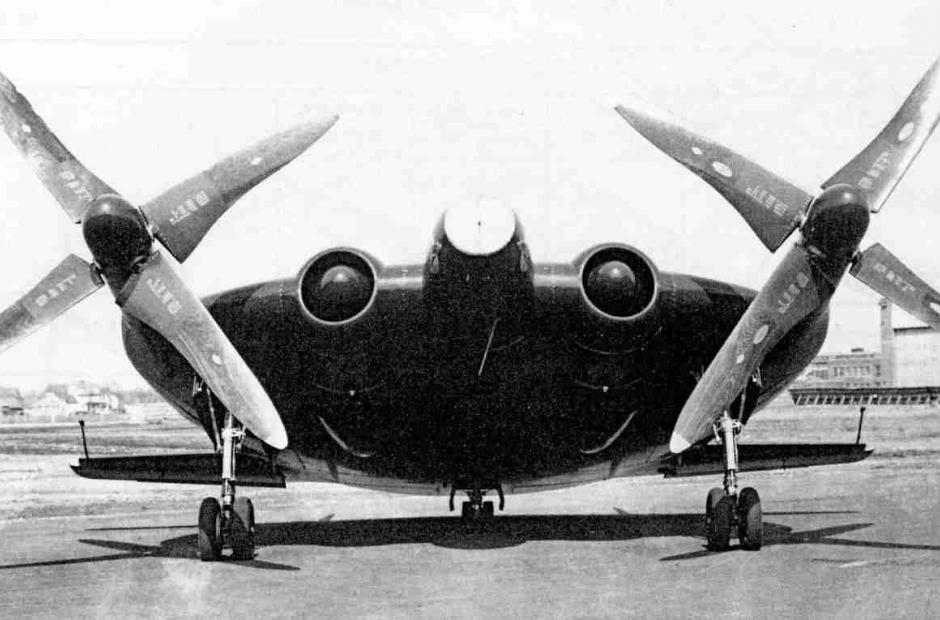 Chance-Vought XF5U-1 -<p></p>